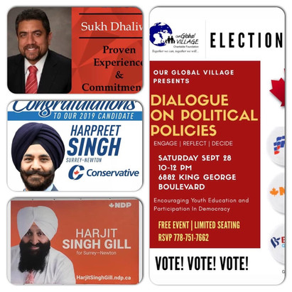 Canadian Federal Elections: Dialogue on Political Policies