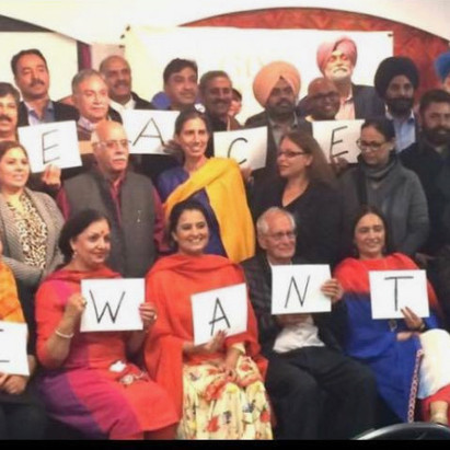 International Peace Talk- Message of peace for India and Pakistan