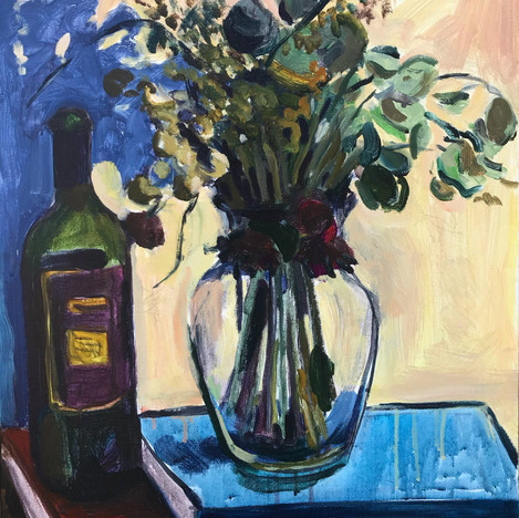 Empty Wine and Dead Flowers