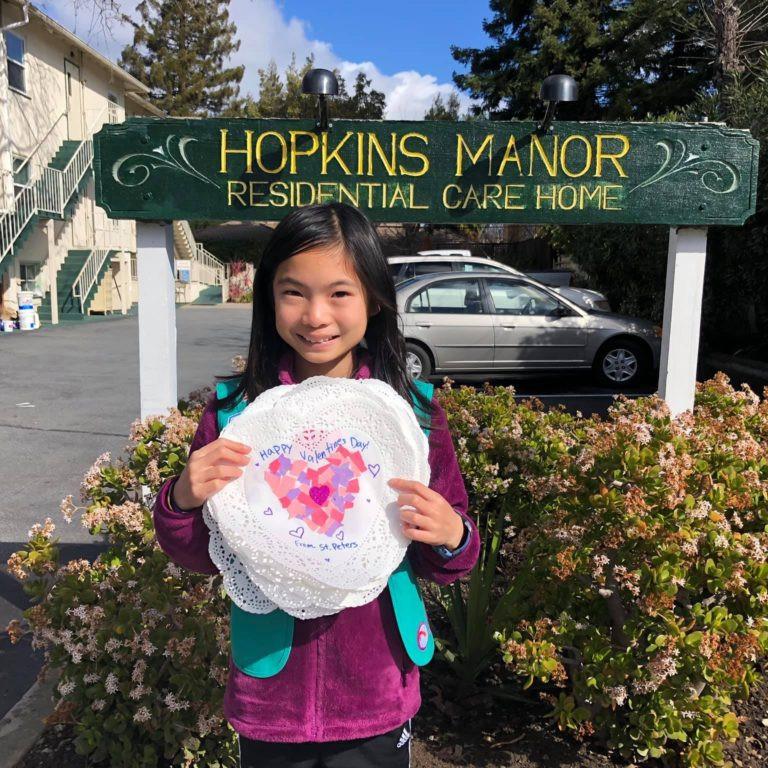 Communion with Hopkins Manor