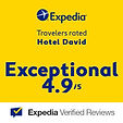 Expedia Award - Hotel David - Firenze - rated