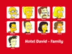 Hotel David - Family - Staff