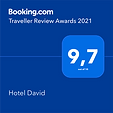 award Booking.com 2021 Hotel David Firenze