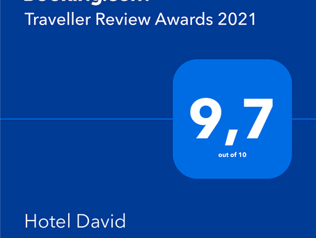 Traveller Review Awards 2021- Hotel David - Florenz