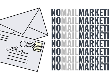 No Mail Marketing - Respect for personal data