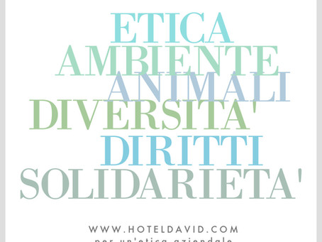 ETHICS - Hotel David in Florence