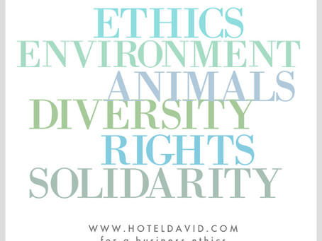 Our biggest challenge? Create an Ethical Company.