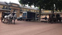 Home removal from Buckingham Palace to Hampton Court Palace
