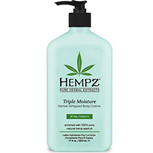 Triple Moisture Herbal Whipped Body Creme 17 ounce