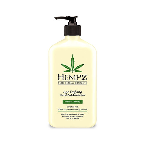Age Defying Herbal Body Moisturizer 17 ounce