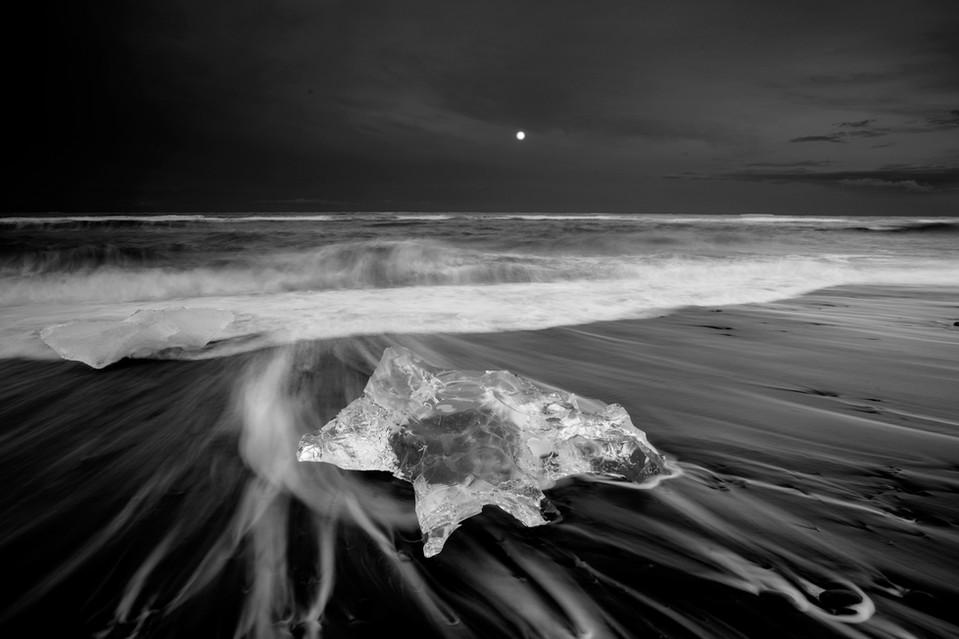 Dimond Beach, Iceland