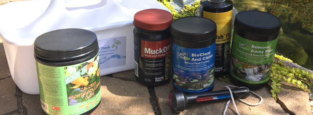 Water Treatments for Ponds