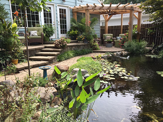 cool ponds water feature