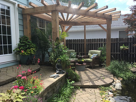 landscape and pond contractor indianapolis