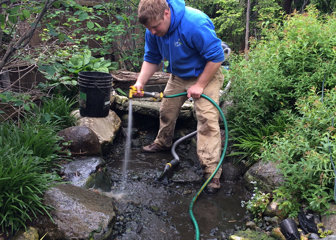 fall pond services indianapolis