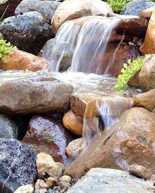 cool ponds waterfall