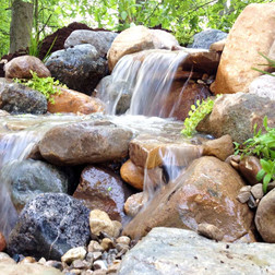 pondfree waterfall