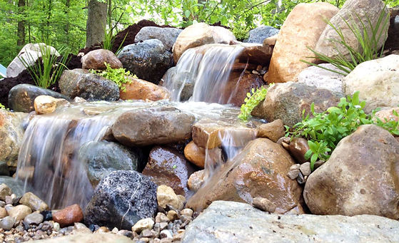 pond-free waterfall installer indiana
