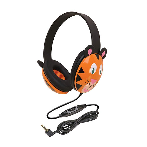 Kid Headphones- Adorable Tiger