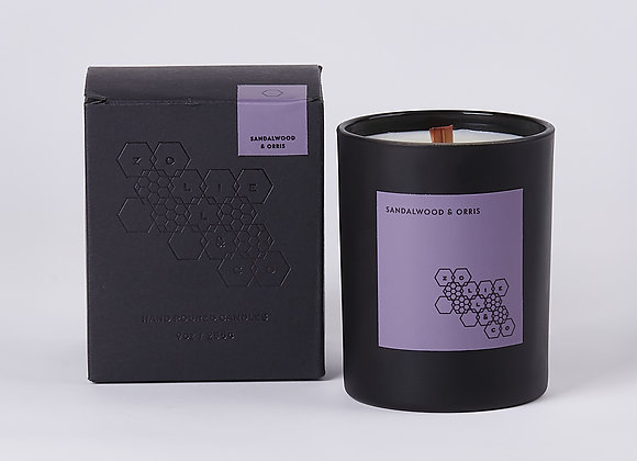 Sandalwood & Orris 9 oz Candle