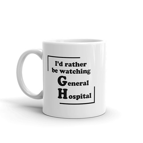 I'd Rather Be Watching GH Mug
