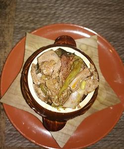 Чанахи   баранина на косточек с овощами