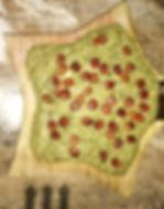 Пхали. Зелёная стручковая фосоль с ореха