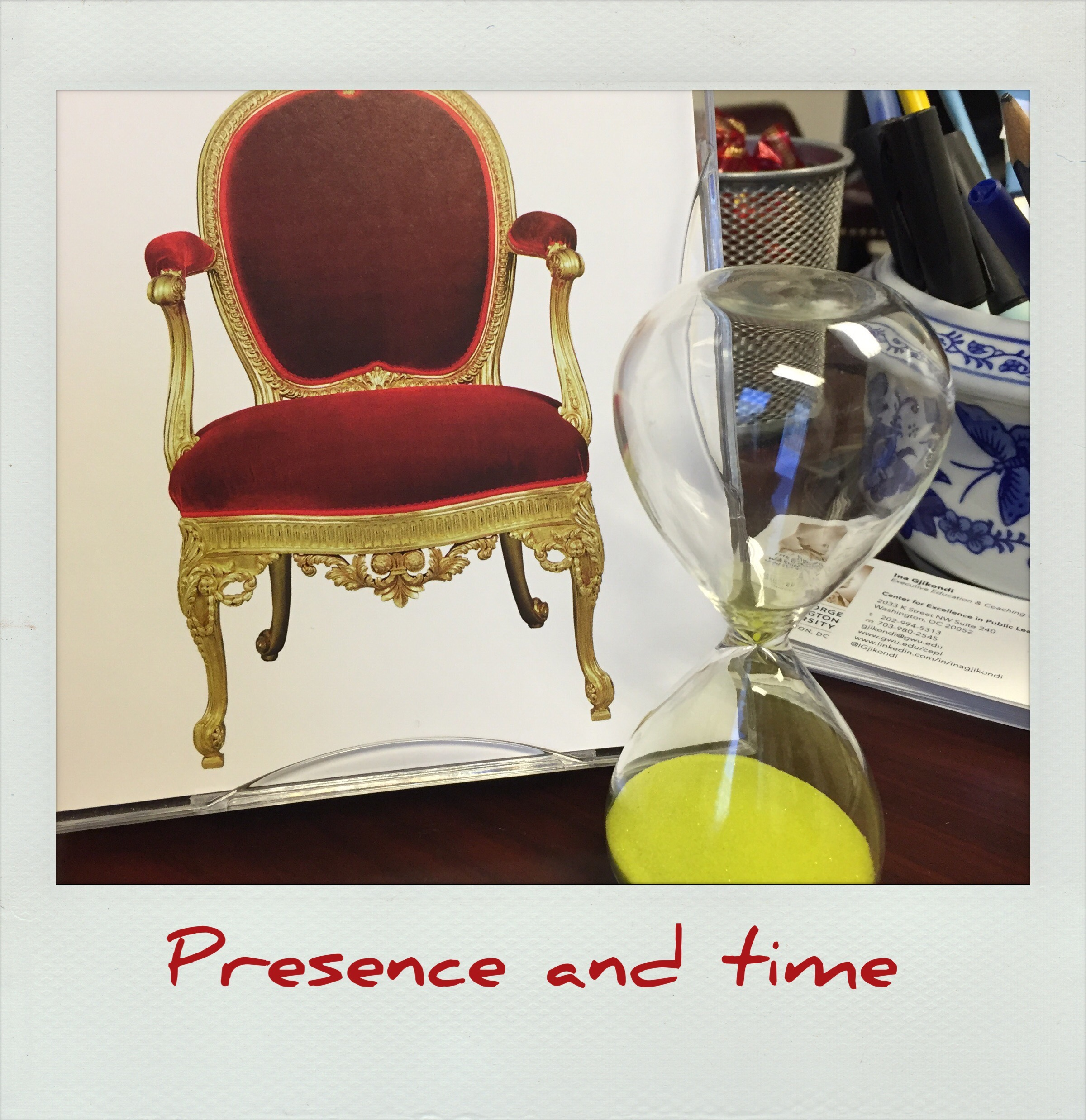 Presence and time