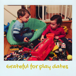 Grateful for play-dates