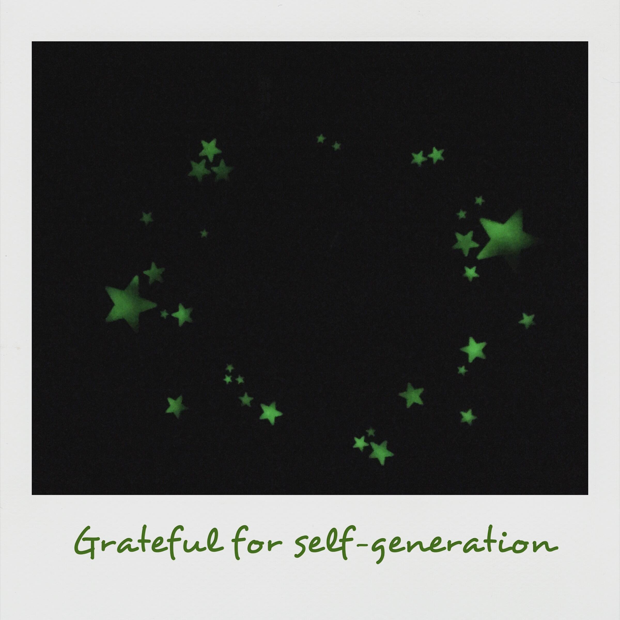 Grateful of self-generation