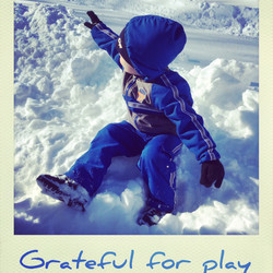 Grateful for play