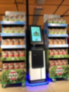 Proteus Smart Display met Touchscreen Ma