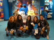 Студенты ИнЯз Курсов в Лондоне, музей M&M's World.