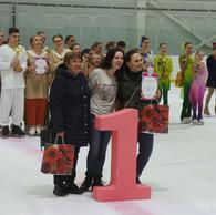 Награждение тренеров призёров фестиваля