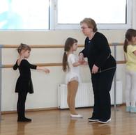 Занятия по хореографии ведёт Ирина Михайловна Орёл