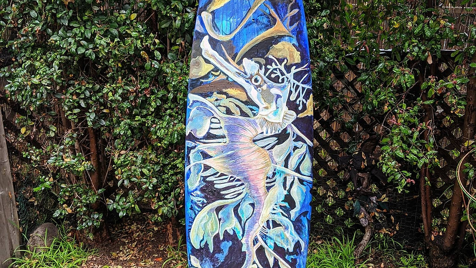 Leafy Sea Dragon Surfboard