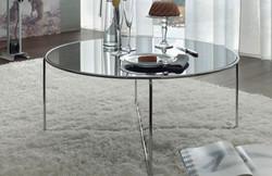 Tavolino in vetro virgilio