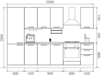 Misure cucina proposta arredamento completo