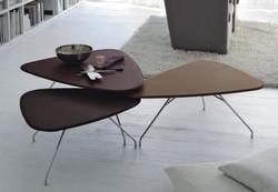 tavolino moderno petalo