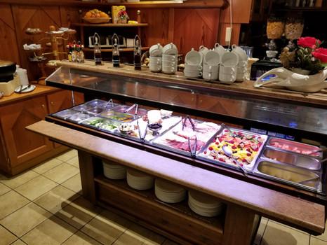 Alpenhotel Frühstücksbuffet