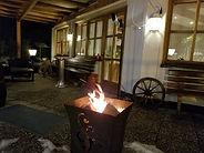 Alpenhotel - Terrasse