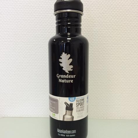 Personnalisation sur bouteilles inox