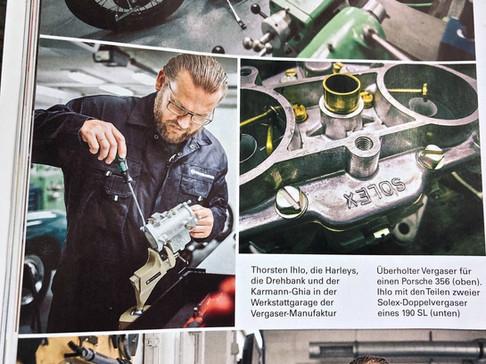 VERGASER MANUFAKTUR HAMBURG MOTOR KLASSIK