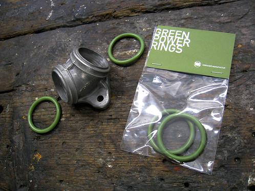 VM GREEN POWER RINGS (PAIR)