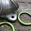 Thumbnail: VM GREEN POWER RINGS (PAIR)