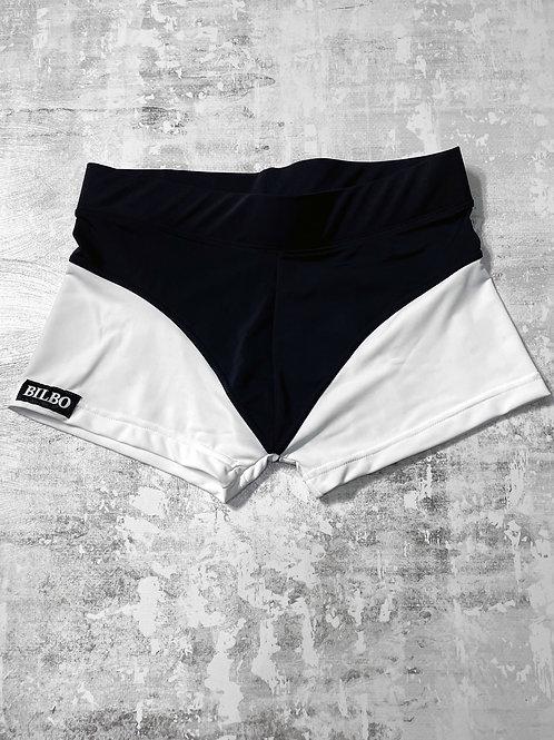Workout Shorts B&W