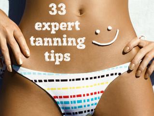 33 Expert Tanning Tips