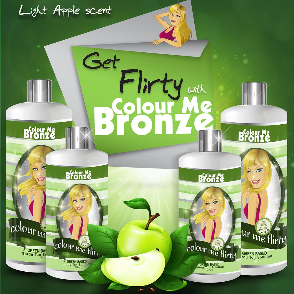 Green based tanning solutions are great for brides