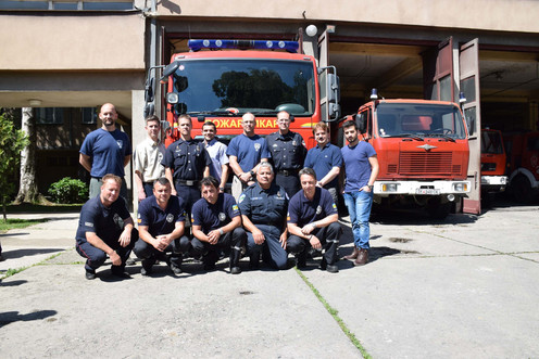 Firefighter First Responder Project