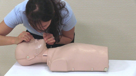 One of 12 episodes of pediatric first aid training videos for teachers, caregivers and parents in North Macedonia